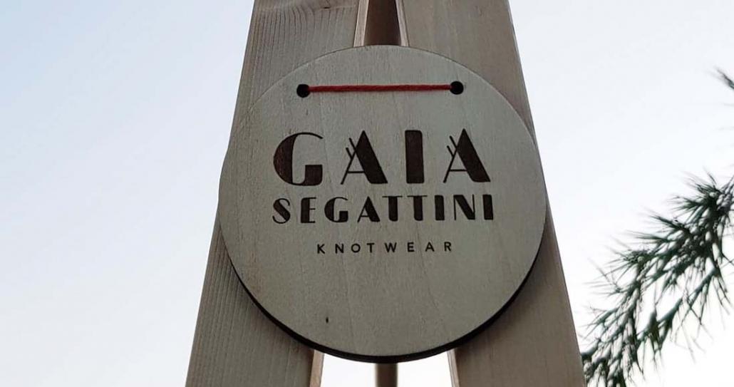 Appendiabiti pieghevole in legno Gaia Segattini Knotwear