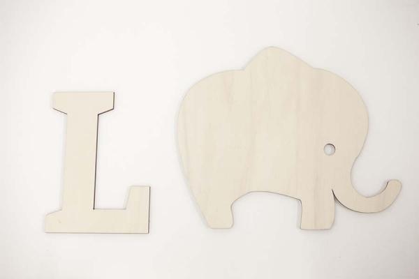 lettere di legno da appendere