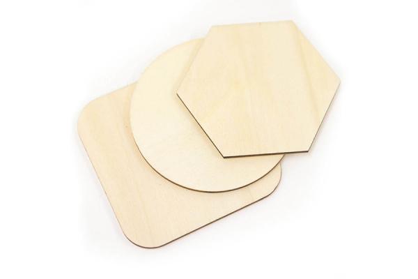 sottobicchieri di legno personalizzabili